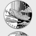 Niue - Silver coin Fantastic World of Jules Verne - Airship Albatross proof