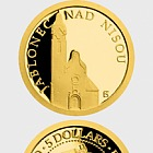 Niue - Gold coin Jablonec nad Nisou - Church of the Exaltation of the Holy Cross proof