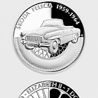 Niue - Silver coin On Wheels - Škoda Felicia proof