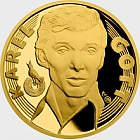 Gold medal Karel Gott - Singer proof