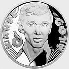 Silver medal Karel Gott - Singer proof