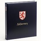 Luxe stamp album Alderney I  1983-2015
