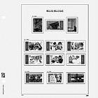 Belgium Postage Vignettes (5x)