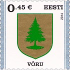 Definitive Stamp. Võru
