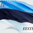 Estonian Flag 1 €