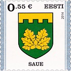Definitive Stamp. Saue