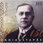 Sesquicentennial of the birth of the writer Eduard Vilde