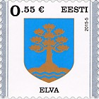 Definitive Stamp Elva