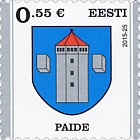 Definitive Stamp - Paide
