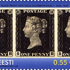 175 years since the publication of the first postage stamp