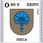 Definitive Stamp - Keila