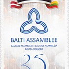 Baltic Assembly 25. Joint Estonian, Latvian and Lithuanian issue