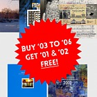 Year Pack Offer 3 - BUY 03 to 06 for 72.10€ & get 01 & 02 FREE! SAVE €32.53!