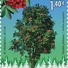 Forests Gold, Forest Species - Joint Issue Estonia - Romania
