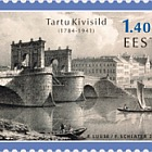 Europa 2018 - (Stone Bridge in Tartu Stamp)