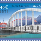 Europa 2018 - (Arched Bridge in Tartu Stamp)