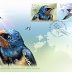 Europa 2019 - National Birds, Barn Swallow