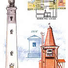 Tallinn Leading Line Lighthouses