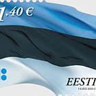 Estonian Flag €1.40 Re-Print