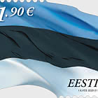 Bandiera Estone € 1.90