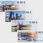 ATM Franking Labels – Visita l'Estonia