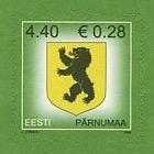 Definitive Stamp - Pärnu County