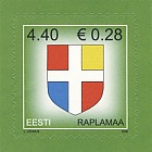 Definitive Stamp - Rapla County