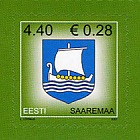 Definitive Stamp - Saaremaa County