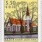 Estonian Churches - St John's Kanepi