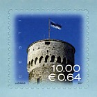 Definitive Stamp - Estonian National Flag