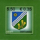 Definitives Stamp - Tartu County