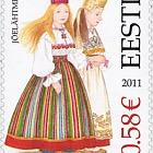 Estonia Folk Costumes - Harju County - Jõelähtme