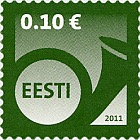 Definitive Stamp - 0.10 €