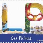 12 months, 12 stamps - Las Palmas