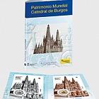 Burgos-Kathedrale -  Münze & Briefmarken