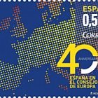 40th Anniversary of Spain in the Council of Europe