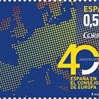 40 ° anniversario della Spagna nel Consiglio d'Europa