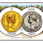 Numismatics 2017 - Aureus of Hadrian and Denarius of Trajan