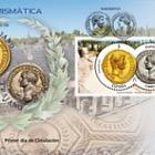 Numismatics 2017 - Aureus of Hadrian and Denarius of Trajan