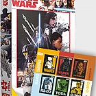 Star Wars - Puzzle and Minisheet