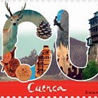12 Months, 12 Stamps - Cuenca
