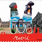 12 Months, 12 Stamps - Madrid