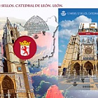 12 Months, 12 Stamps - Leon Cathedral