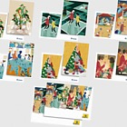 Philatelic Christmas Cards