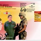 Igualdad de género en las Fuerzas Armadas