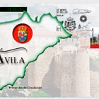 12 Months, 12 Stamps - Avila