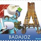 12 Monate, 12 Briefmarken - Badajoz