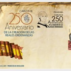 250th Anniversary of the creation of the Royal Ordinances of Carlos III