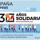 Valores Cívicos - X Solidaria, Concienciación