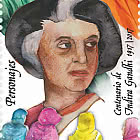 Personajes - Centenario Indira Gandhi